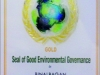 Seal of Good Environmental Governance - Gold