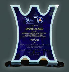 gawad kalasag plaque